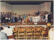 Dathliad Nadolig Ysgol Penboyr, c.1986