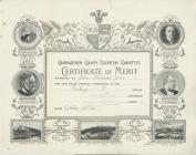 School Attendance Certificate, Penboyr School,...