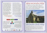 Eglwys Sant Barnabas, Felindre, taflen wybodaeth