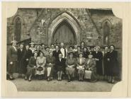 The Mothers Union, St Barnabas, Velindre, 1950s