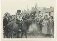 Carnifal Dre-fach Felindre: cowboi, 1950au