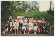 Trip Merched y Wawr, bargod Teifi, 1988