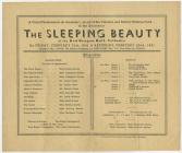 Pantomeim, The Sleeping Beauty, Dre-fach...
