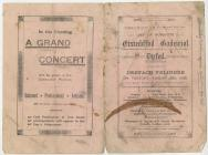 Programme of Dyfed Eisteddfod, Dre-fach...