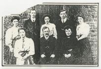 Penboyr School staff, c.1900
