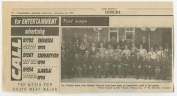Dre-fach Velindre Orchestra, 1930s