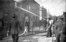 Fire in Pembroke Dock - 1900's