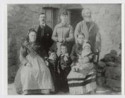 John and Sarah Lewis ca 1887