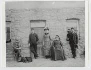 The family of John and Sara Lewis, Graigwen