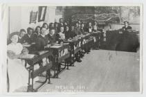 Gaiman Secondary Grade School, 1911