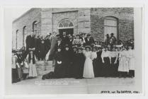 Opening of  The Middle School in The Gaiman 1908