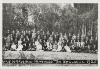 Cor Y Dyffryn Uchaf - arweinydd Tom Rowlands 1925