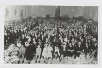 Eisteddfod in the Memorial Hall, Trelew.  1942?