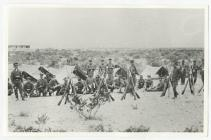 "Trelew 1904. Men doing their ""servicio..."