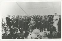 Gaiman Eisteddfod 1942.  Morris ap Hughes in...