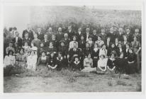 Cor Tedi Williams (taid May) Trelew 1911-12