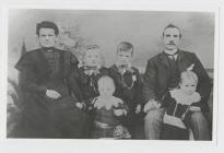 John ap Hughes and family