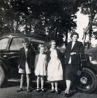 Lily and Peter with unknown girls