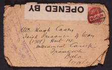 Letter from Lillian Casey to Hugh Casey,...