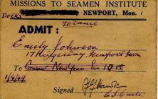 Emily Johnson dance Pass, Mission to Seamen...