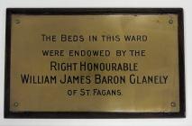 Bed Plaque