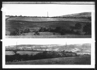 Offa's Dyke alignments in Treuddyn Parish