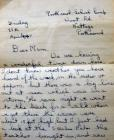 A letter home about the loss of the Samtampa in...