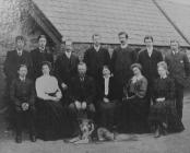 Llecheiddior Mill Family c.1906