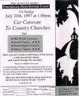 Salem Church Car Caravan Invitation 1997