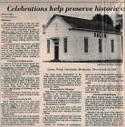 Article on Ebensburg, PA Churches July 30, 1983