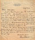 Letter from Davis to Jose August 4, 1931