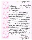 Letter from Jane and Judy Grigg July 10, 2007