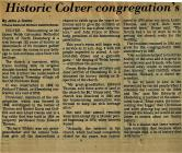 Salem Homecoming Association Reunion Articles 1991