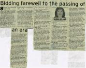 Sherman Evans Obituary 2009