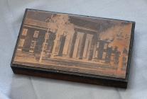 Temple printing block