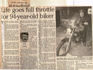Article on Tom Barber, January 4, 1999