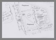 Map of Despenser Gardens for Riverside Festival...