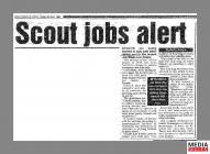 Clipping from page 17 of the South Wales Echo...