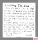 Newspaper clipping from page four of the South...