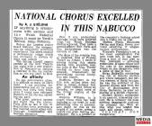 Newspaper clipping taken from page 9 of the...