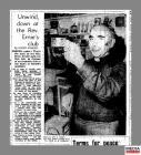 Newspaper clipping taken from page 10 of the...
