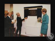 Photograph of HRH Princess of Wales unveiling a...