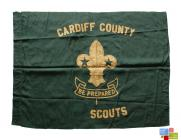 Cardiff County Scouts Flag, Cardiff, pre-1955...