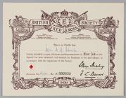 First Aid Examination Certificate awarded to...