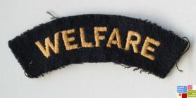 Women's Voluntary Service (WVS) Welfare badge,...