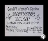 Flyer for Cardiff Women's Centre...