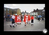 A photograph of St Paul's Folk Dance Group...