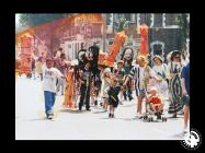 A photograph of the Grangetown Carnival parade...