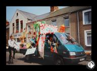 A photograph of Grangetown Carnival parade cup...