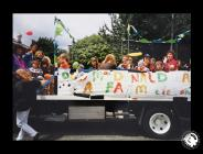 A photograph of the Grangetown Nursery Float...